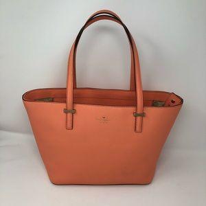 Kate Spade, Classic Peach Tote Bag